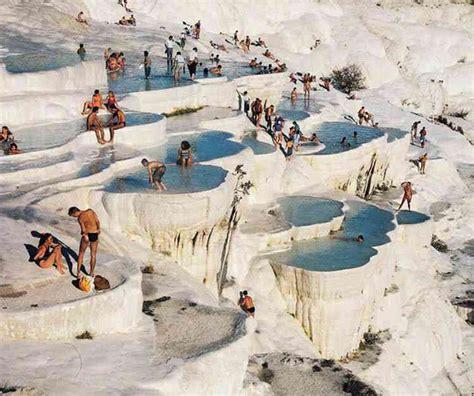pamukkale hot springs world visit pamukkale turkey
