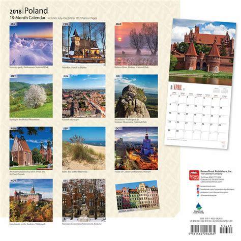 Poland Calendã 2018 Poland Calendar 2018