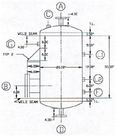 design criteria pressure vessel vessel design