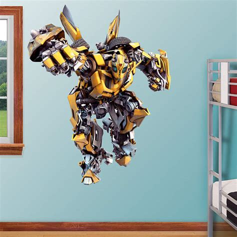 transformers wall stickers bumblebee fathead wall decal