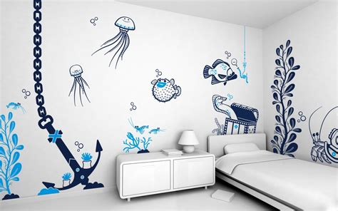 cool bedroom wall ideas cool wall paint ideas home design