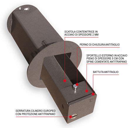 cassette di sicurezza a muro cassaforte di sicurezza blindino da 110mm installazione