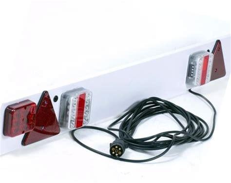 boottrailer waterdichte verlichting verlichtingsbalk led lichtbalken velichtingsets