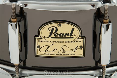 Snare Drum Pearl Signature Series Chad Smith pearl chad smith signature snare drum 5 quot x14