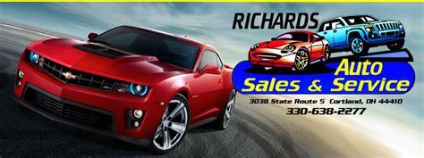 dodge dealer cortland ohio richards auto sales service llc used cars cortland