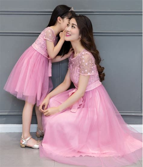 mother and daughter matching dress matching mother daughter wedding dress 2016 mother