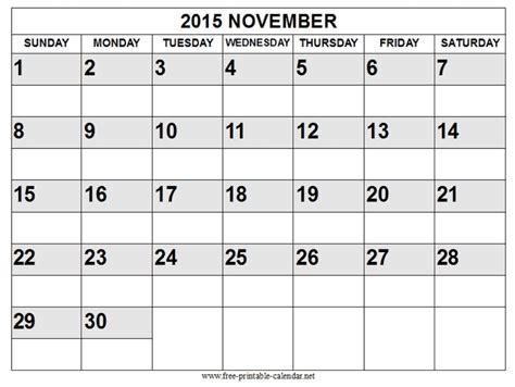 printable calendar november 2015 landscape free printable calendar 2018 free printable calendar november
