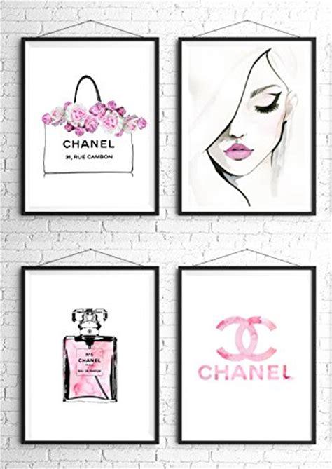 coco chanel quote printable diy home decor free 8 5 8 5x11 set of 4 coco chanel logo splash black watercolor