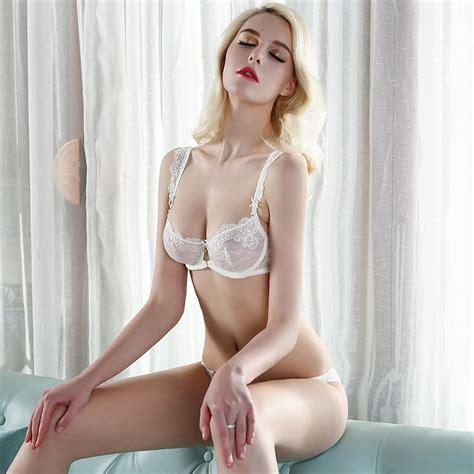 primejailbait bra and underwear 2015 sexy lingerie bra brief sets three row lace