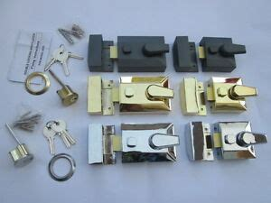 double locking door deadlock cylinder yale type lock night