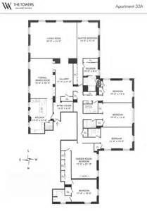 Waldorf Astoria New York Floor Plan by The Highest Rents In New York City