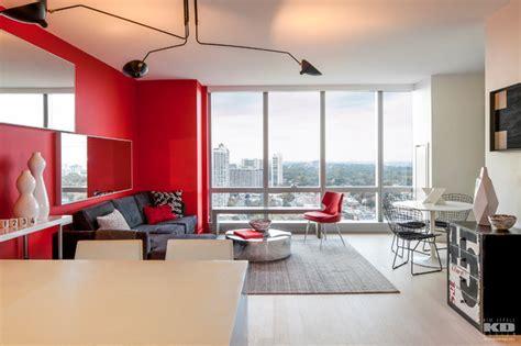 Modern Living Room Essentials Open Kitchen Living Room Essential Modern Black And