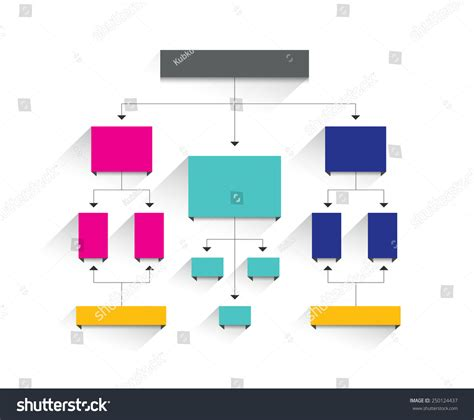 editable flowchart template flow chart simply editable without text infographics