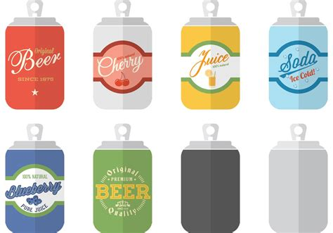 Soda Can Templates Vector Download Free Vector Art Stock Graphics Images Can Design Template