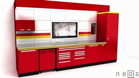 Garage Envy Cabinets Premium Neos Metal Garage Cabinets By Garage Envy