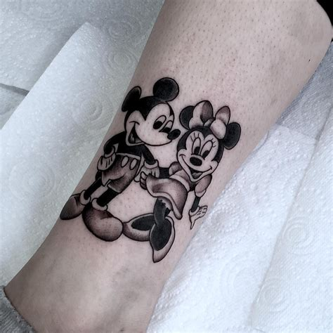 minnie mouse tattoos designs mickey and minnie mouse best ideas gallery