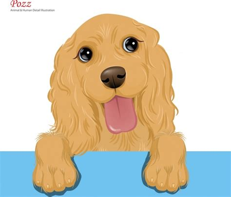 puppy vector free vector in adobe illustrator ai ai