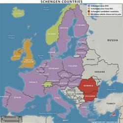 map schengen countries stratfor