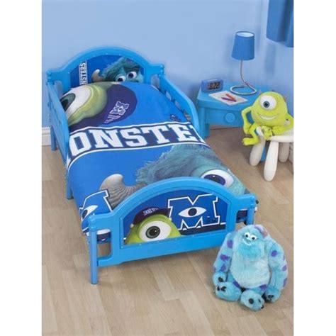 Monsters Inc Bed Set Disney Monsters Inc Panel Junior Cot Bed Duvet Quilt Cover Set Gift Ebay