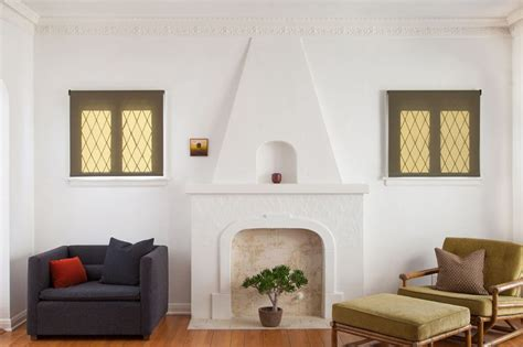 small pop of color for mantel fireplace home decorating