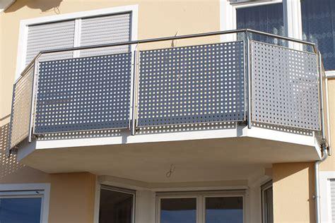 gel nder edelstahl balkon lochblech f 195 188 r balkon wohnideen infolead mobi
