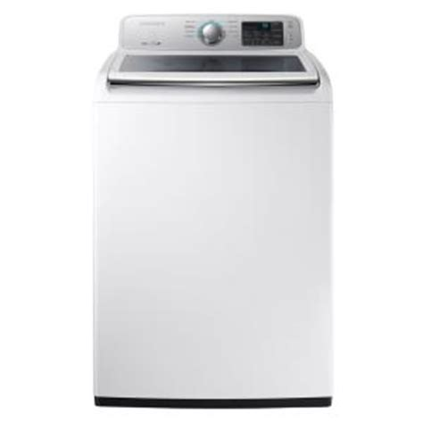 samsung 4 5 cu ft high efficiency top load washer in