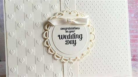make wedding card how to make an ivory wedding card diy crafts