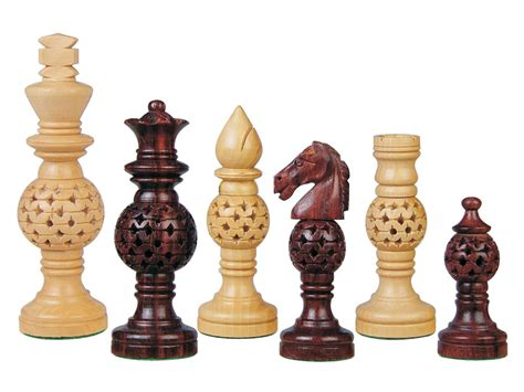 Chess Set Pieces | globe design artistic wood chess set pieces rosewood