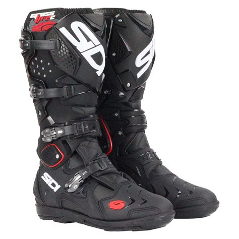 sidi motocross boots sidi new 2016 mx crossfire 2 srs race dirt bike black