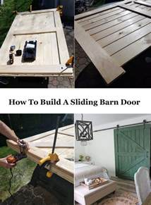 how to build sliding barn door how to build a sliding barn door for less the honeycomb home