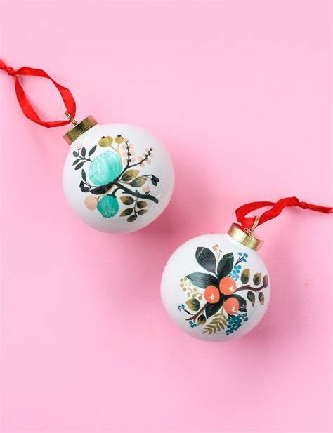 chagne colored ornaments 10 diy ornaments for your tree crazyforus