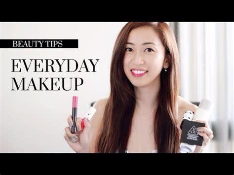 everyday makeup tutorial korean everyday makeup tutorial ft korean and japanese makeup