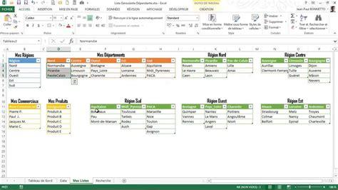 tutorial excel 2010 liste deroulante excel vba userform liste d 233 roulante les