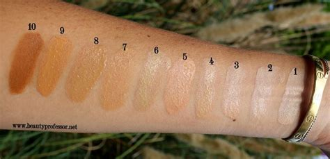 Brightening Illuminating Sunscreen Beige Promo7 tilbury light foundation swatches in