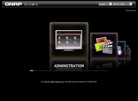 format hard drive qnap qnap turbonas ts 119p ii nas server review