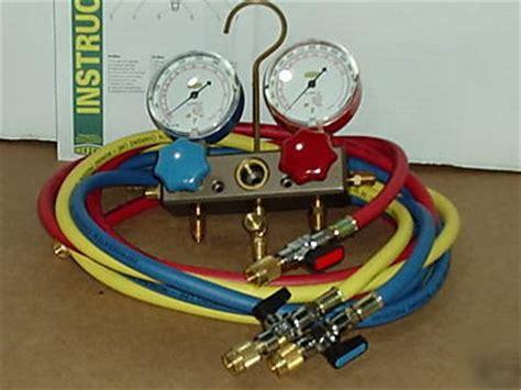 Pressure Refco hvac refco a c gauges r410 a