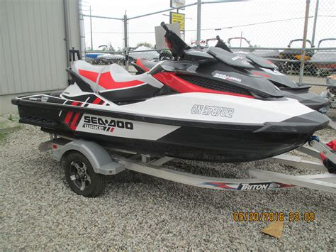 sea doo boat dealers in ontario sea doo wake pro 215 2013 used boat for sale in ayr