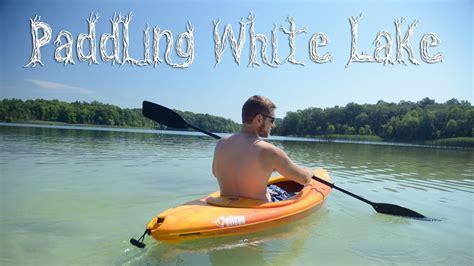 Warren County Nj Records Paddling White Lake In Warren County Nj