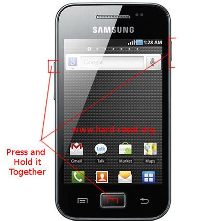 reset samsung ace how to safety format samsung galaxy ace s5830 s5830i