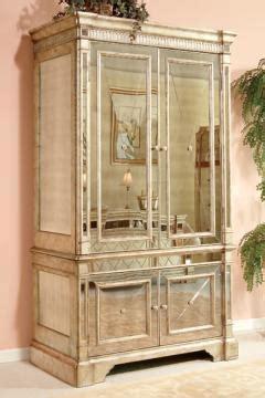 borghese mirrored armoire wardrobe closets bedroom