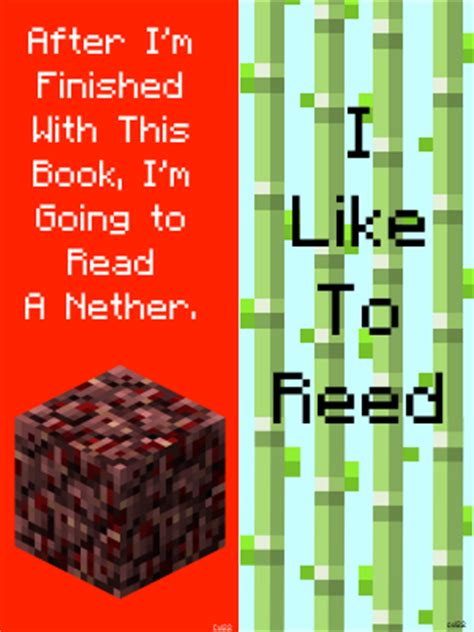 minecraft bookmarks by cheesedoctor22 on deviantart