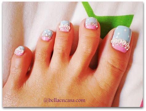 imagenes de uñas de acrilico en los pies fotos de decoraciones de u 209 as para pies bella en casa
