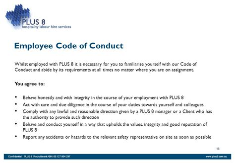 Is A Blogging Code Of Conduct Really Necessary by Plus 8 Employee Handbook Read Each Section