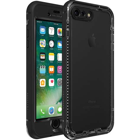 lifeproof nueued case  iphone   black