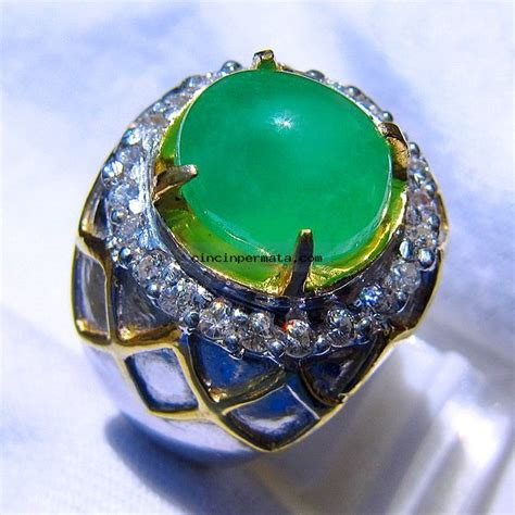Cincin Permata Emerald cincin batu permata emerald jamrud cincinpermata