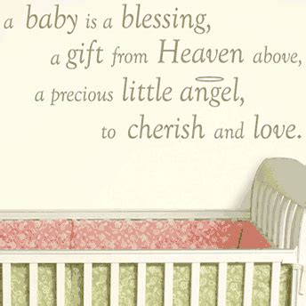 gift from heaven baby quote baby baby boy baby baby blessings and wishes the home wall decal quotes