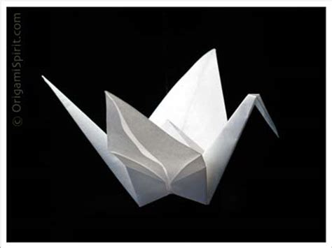 Meaning Of Crane Origami - japanese origami crane 171 embroidery origami