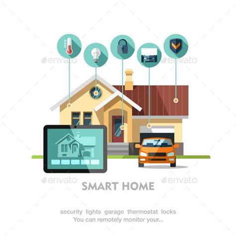 Smart Items For Home smart home by faber14 graphicriver