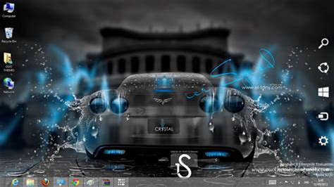 Car Themes For Windows 8 1 Free Download | super car crystal effect theme for windows 7 and 8 ouo