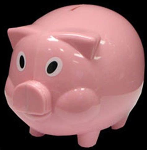 piggy bank in new pink piggy bank coin money collectible plastic